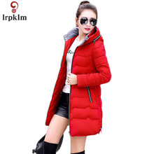 Winter lady coat 7XL New Parks Women Winter Jacket For Women Cotton Jackets Winter Jacket For Women Fashion Parke female LZ137(China)