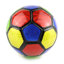 2017 Colorful PVC Kids Football Ball Size 3 Machine-sewn Soccer Ball For Training Soccer Equipment