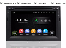 Auto Navigation Car Android 5.1.1 DVD GPS Player for Peugeot 3005 3008 5008 Partner Berlingo Radio RDS Bluetooth Mirror Link Map