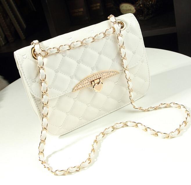 2015 new fashion women handbags lozenge chain style women bag casual Wild shoulder women messenger bag free shipping dh184<br><br>Aliexpress