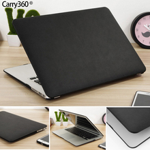 Carry360 PU Leather Case for Apple Macbook Pro 13 Case Air 13 11 Pro Retina 12 13.3 15 Laptop Bag Cover for Mac Book Air 13(China)