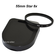 8 Point Star Filter 55mm 55 mm Twinkle Lens Filters 8x For Nikon D60 D70 D80 D90 D300 D300S D600 D610 D700 D700S D750 D800 D800E