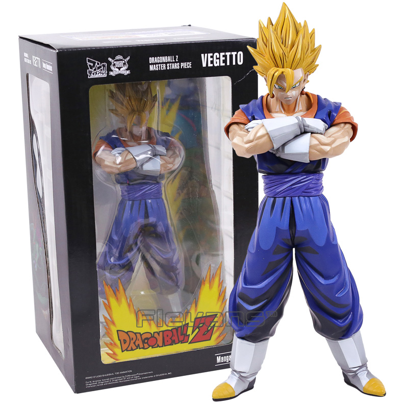 Dragon Ball Z MSP Master Stars Piece The Vegetto Manga Dimensions PVC Figure Collectible Model Toy 26cm<br>