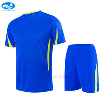 Custom name and number Blank Soccer Sets short sleeves Men Football Jersey Sports Fitness Survetement Football kits uniforms