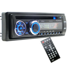 NEW Hot Single Din Car Bluetooth DVD CD Player Vehicle MP3 Stereo Radio 8169A with Removable panel Battery Not Included