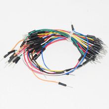 10Set X 65pcs Jumpers Kit Cable Pack Protoboard Solderless Breadboard Jumper Wire Board Cable Kit Module Jumper Wires 65pcs/set