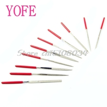 10Pcs Needle Files Carving Jeweler Diamond Metal Glass Stone Craft Tool 140mm #S018Y# High Quality
