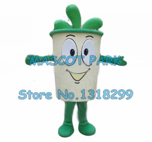 Buy mascot green tea cup mascot costume adult size advertising tea theme anime cosplay costumes carnival fancy dress suit kits for $274.55 in AliExpress store