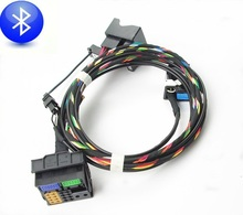 Bluetooth Cable Wiring Harness Fits For VW RCD510 RNS510 Tiguan Golf Jetta MK5 MK6 Passat B6 GTI(China)