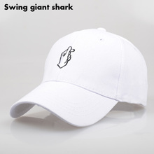 Fashion Hand Love Hat Hip Hop Kpop Curved Strapback Baseball Cap for Men Women Adjustable