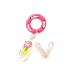 Dog Tooth Rope Chew Toy Dog TPR Rubber Ring Toys Pet Dog Training Toys for Animal Puppy