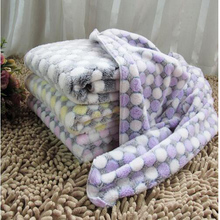 New Style Beautiful Warm Pet Bed Mat Cover Small Medium Large Pet Mattresses Fleece Soft Blanket Puppy Winter Pet Supplies(China)