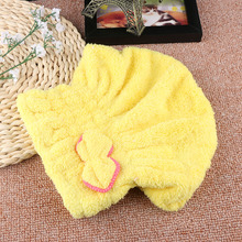 Hot Sale!! 1PC New Women Microfiber Towel Quick Dry Hair Magic Drying Turban Wrap Hat Cap