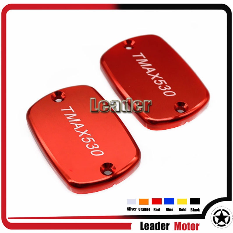 Hot Sale Motorcycle Accessories For YAMAHA TMax 530 TMAX530 T-MAX530 Aluminum Cover Brake Clutch Cylinder Reservoir Cover Red<br><br>Aliexpress