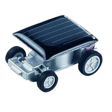 New Smallest Mini Car Solar Powered Toy Car New Mini Children Solar Toy Gift Baby Kid Solar Car Toy(China)