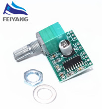 1PCS SAMIORE ROBOT PAM8403 mini 5V digital amplifier board with switch potentiometer can be USB powered(China)