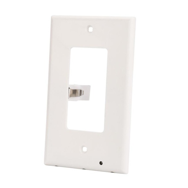 Outlet wall plate with led night lights trigenlt store light sensor automatically turns lights on and off mozeypictures Gallery