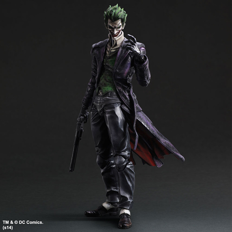 Movie Figure 27 CM Movable Joker batman Justice League PVC Action Figure Collectible Toy Model<br><br>Aliexpress