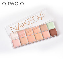O.TWO.O  Paleta De Corretivo Profissional 12 Colors Cosmetic Camouflage Concealer Palette Face Makeup