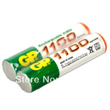 8pcs  Wholesale AAA 1100MAH/1.2V GP Rechargeable NiHM Battery  3A Baterias Bateria for Camera control electric toy mp3 player