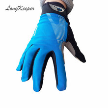 LongKeeper Women Men Gloves Full Finger Gloves for Fitness Work Out Guantes Eldiven Blue Green Gray Black Orange SXJ149(China)