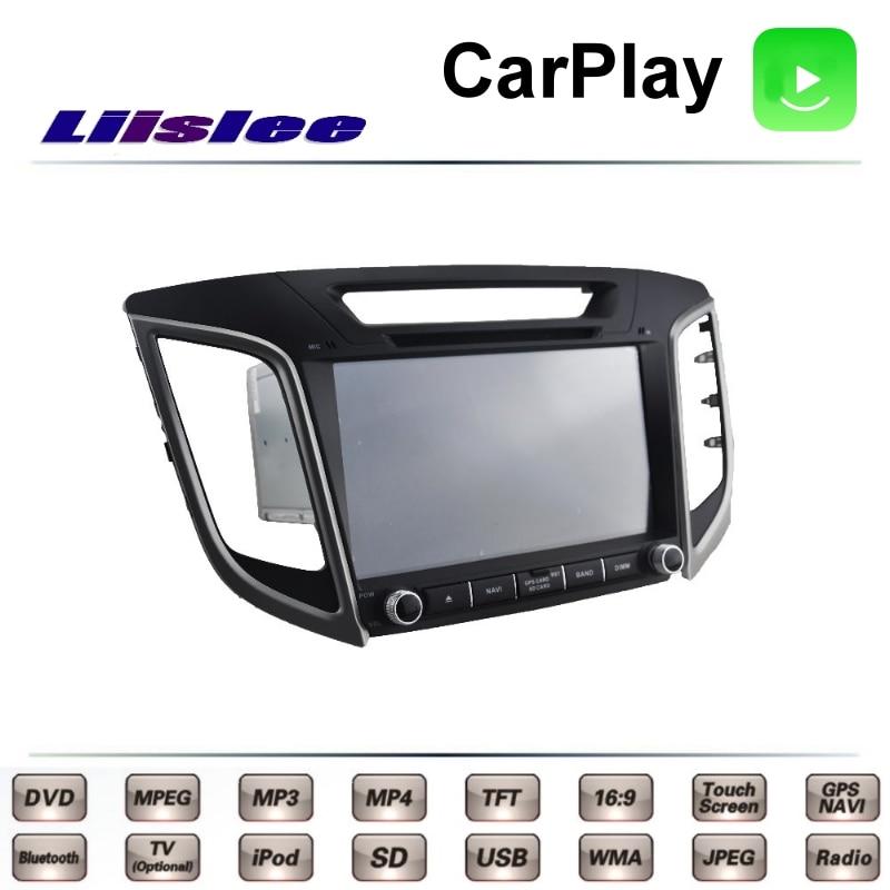 LiisLee For Hyundai Cantus ix25 ix 25 2014~2017 Car Multimedia TV DVD GPS Radio Carplay Original Style Navigation Navi 5