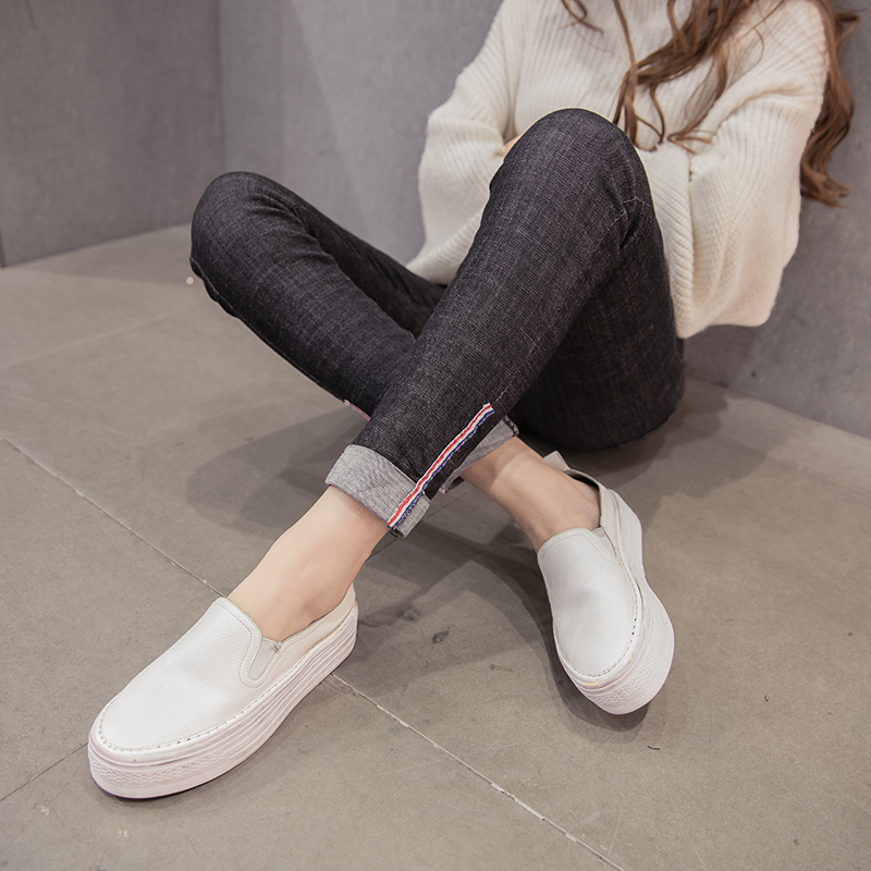 2xl plus big size denim jeans panty women spring autumn 2017 feminina stretch thin pencil pants female A2359Одежда и ак�е��уары<br><br><br>Aliexpress
