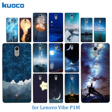 Buy New Lenovo P1M Lenovo Vibe P1M Night Sky Pattern Soft Silicon TPU Back Cover Case Lenovo Vibe P1 M a40 Phone Case for $1.25 in AliExpress store