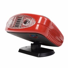 New 12 Volt DC Auto Portable Heater Fan Defroster with Light Electric Car Heater AT3668(China)