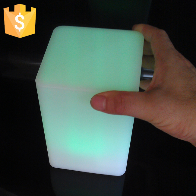 Waterproof LED Cube Light LED Square Light Cube Outdoor decorative LED light-emitting cube square shape colorful lights<br>