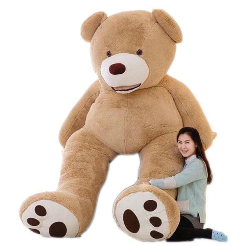 Huge Size 200cm USA Giant Bear Skin Teddy Bear Hull,Super Quality,Wholesale Price Selling Toys For Girls(China (Mainland))