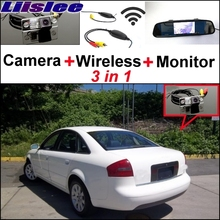 Liislee Special Rear View Wifi Camera Wireless Receiver Mirror Monitor Easy Parking System For Audi A6 S6 RS6 C5 MK5 1997~2004