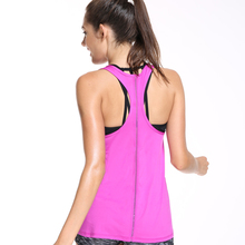 Buy Summer Quick Drying Women FItness Tank Top Workout Gyming Hollow Sleeveless Women Shirt Vest Round Neck Ladies Slim Clothes for $7.67 in AliExpress store