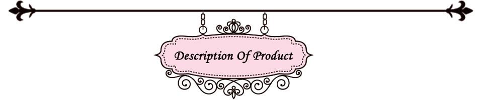 Description Of Product