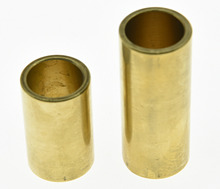 KAISH Pair of Guitar Knuckle Slide Brass Guitar Finger Slides(China)