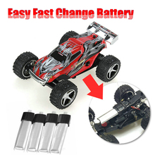 Easy Fast Changing Battery WLtoys WL 2019 WL2019 5 Speed Gears Remote Control Monster Truck Toy RC Car Motor Electric Car Kart