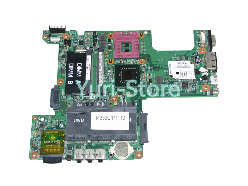48.4W002.031 Laptop Motherboard For Dell inspiron 1525 CN-0PT113 0PT113 PT113 Main board GM965 DDR2 Free CPU(China)