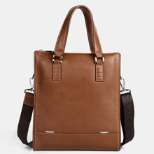 GOOG.YU Genuine Leather Bag Designer Men's Shoulder Bags Suitable for work leisure briefcase Casual Handbags High Quality Bags(China)