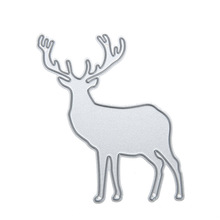 Christmas Deer Metal Cutting Dies Stencils DIY Scrapbooking Photo Invitations Cards Making Decorations Embossing Craft Die Cut