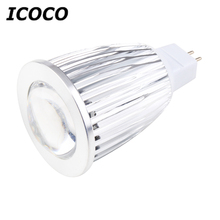 ICOCO Bright 7W 16 LEDs COB Spot Down Light Lamp Bulb Downlight Cool/Warm White MR16 Wholesale Flash Deal Sale(China)