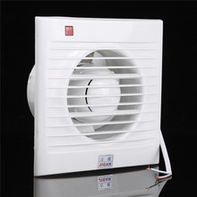 Mini Wall Window Exhaust Fan Bathroom Kitchen Toilets Ventilation Fans Windows Exhaust Fan Installation