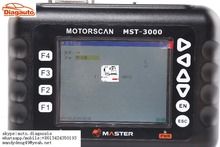 Asia version universal motorcycle scanner tool MST-3000  multi Brands motorcycles supported