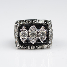 1983 Super Bowl Replica Oakland Raiders  Championship Ring 18k gold plated  bottom price champion rings