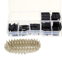 470Pcs 2.54mm Male Female Dupont Wire Jumper With Female Connector Housing Kit Module(China)