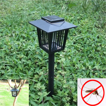 Solar Powered LED Lawn Lamp Outdoor Garden Park Anti-Mosquito Bugs Insect Fly Lamps Landscape Mosquito Repeller Solar Lawn Light(China)
