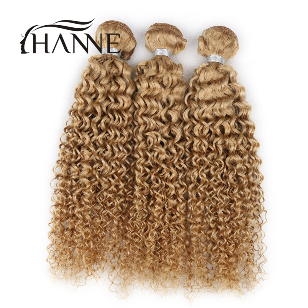Mongolian curly hair 3 bundles honey blonde curly hair afro kinky curly remy human hair weave #27 deep curl human hair extension<br><br>Aliexpress