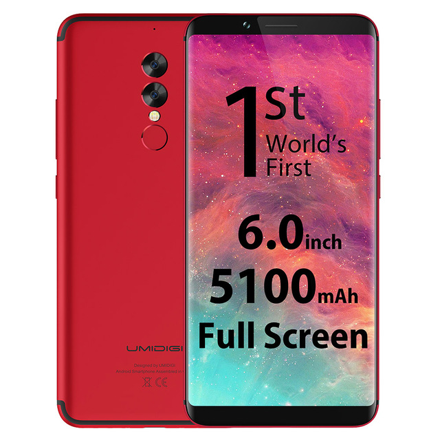 UMIDIGI S2 4G Phablet Android 6.0 6.0 Inch Helio P20 Octa Core 2.3GHz 4GB RAM 64GB ROM 13.0MP + 5.0MP Dual Rear Cameras Type-C