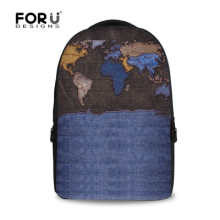 Vintage Men Backpack American Apparel Denim Backpack High School Children Boys Jeans Backpack Large Computer Laptop Backpack