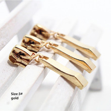 3# Wholesale 10pcs Zipper gold Metal Zipper Pulls zipper Head For Handbag/ Backpack/Clothing/Sewing Tailor Tools,t12
