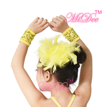 Girls Accessories Fascinator Feather Hair Stage Performance Colourful Headpiece Hair Accessories For Women And Girls